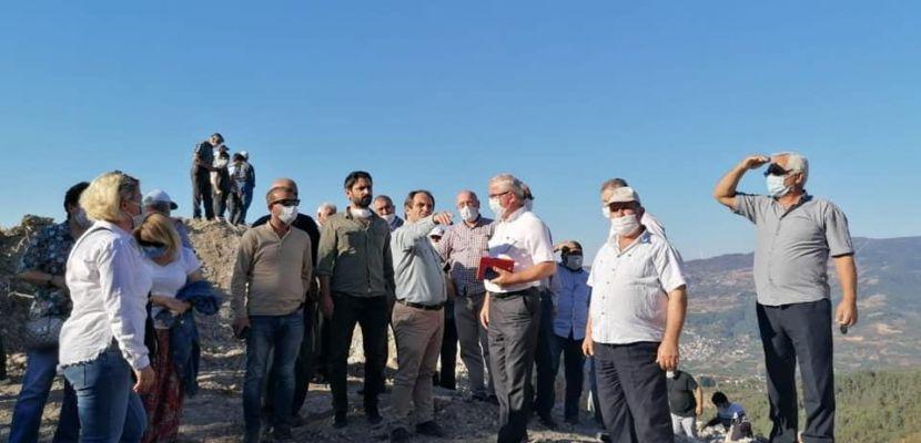 CHP'li Başkan Keleş 18 yıldır kâbusu yaşayan İhsaniyeMahallesi'ni ziyaret etti