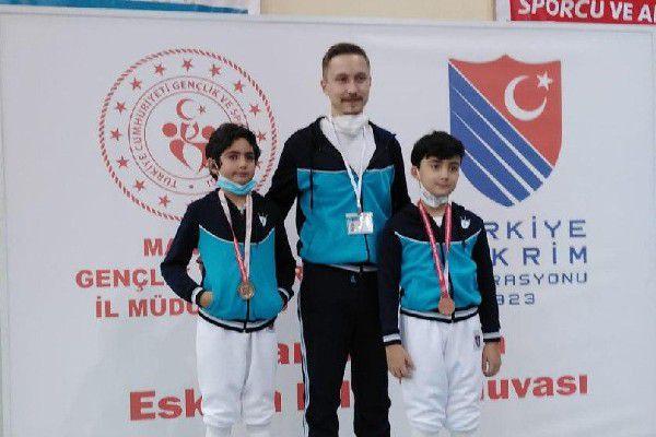 Cihan Okyanus Tarakcı, gümüş madalya kazandı