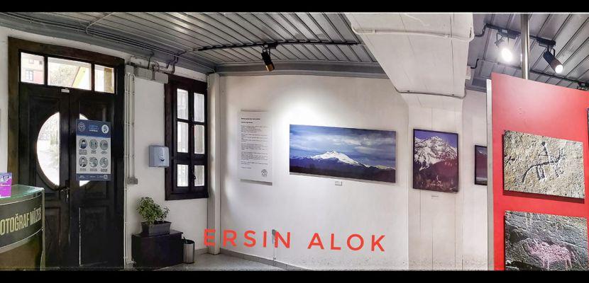Ersin Alok 'Benim Meskenim Dağlardır' sergisiyle Bursa'da