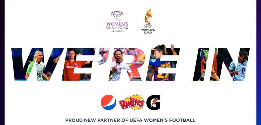 PepsiCo, UEFA Kadınlar Futbolu'nun resmi sponsoru