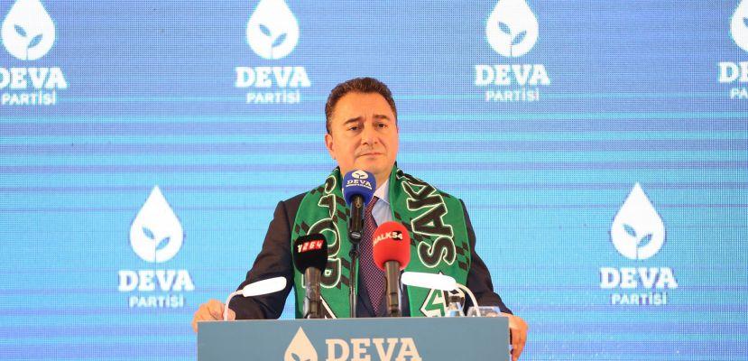 Ali Babacan Sakarya'da: 'Gözünüz arkada kalmasın, biz daha iyi yönetiriz'