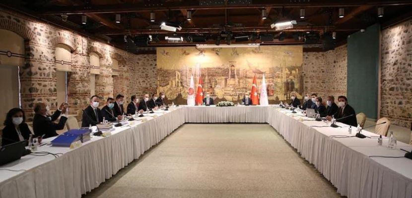 Daha İyi Yargı Derneği hukuk ve yargı yapılanmasına ilişkin görüşlerini Bakan Elvan ve Bakan Gül'le paylaştı