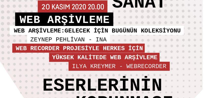 """digitalSSM'in """"Teknolojik Sanat Eserlerinin Korunması"""" projesi """"Web Arşivleme"""" başlıklı konuşmaya ev sahipliği yapıyor"""