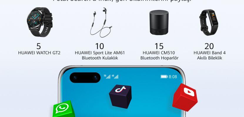 HUAWEI yeni arama motoru Petal Search'ü kullanıcıları ile birlikte geliştiriyor