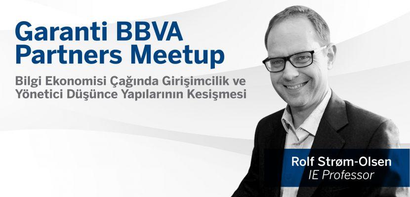 Garanti BBVA Partners Meetup Serisi Devam Ediyor