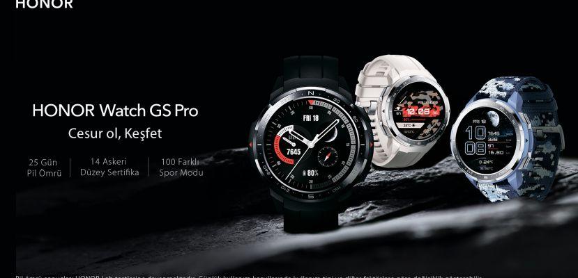 HONOR Watch GS Pro akıllı saat Türkiye'de!