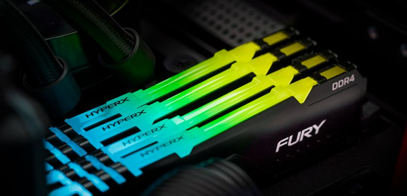 HyperX'ten 16Gbit Yeni FURY DDR4 RGB Bellekler
