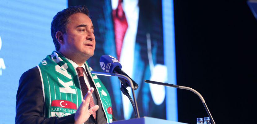Ali Babacan'dan iktidara 'acı reçete' tarifi