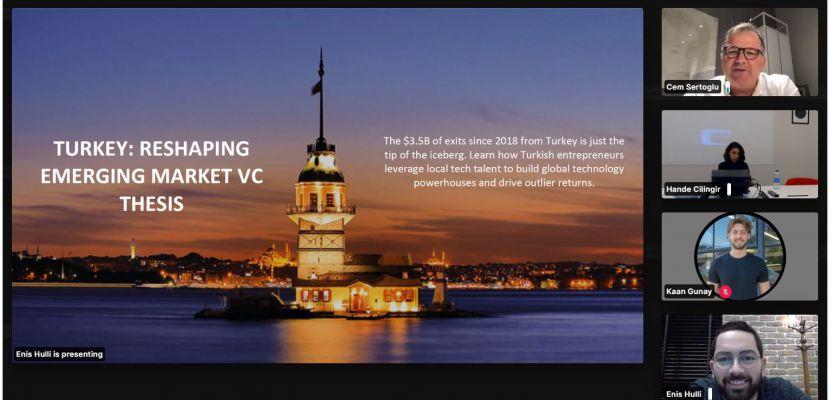 Cumhurbaşkanlığı Yatırım Ofisi Türk Start-up'larla Web Summit 2020'de