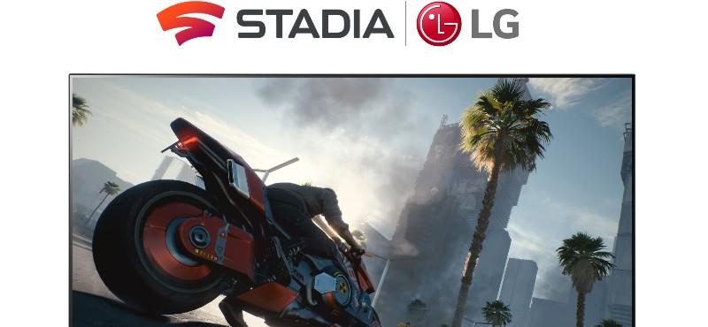 2021 Serisi LG Smart TV'lere Google Stadia desteği geliyor