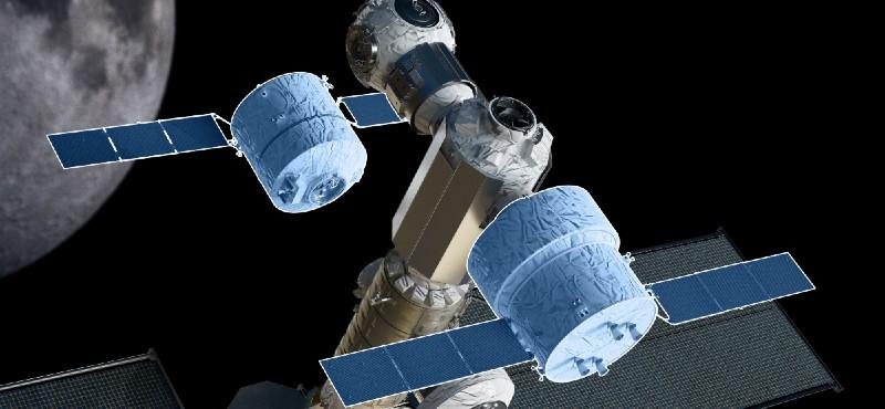 """Airbus, ESA'nın ay yörüngesindeki transfer aracı için """"Moon Cruiser"""" konseptini üzerinde çalışıyor…"""
