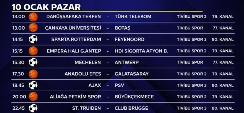 Ajax-PSV Eindhoven maçı sadece Tivibu'da