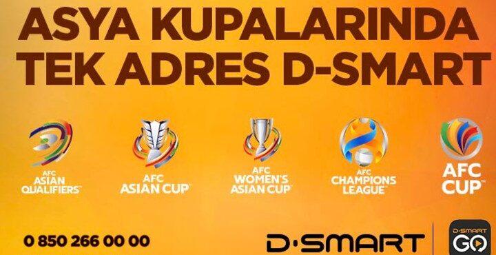 Asya Futbol Turnuvaları 4 yıl boyunca D-Smart'ta
