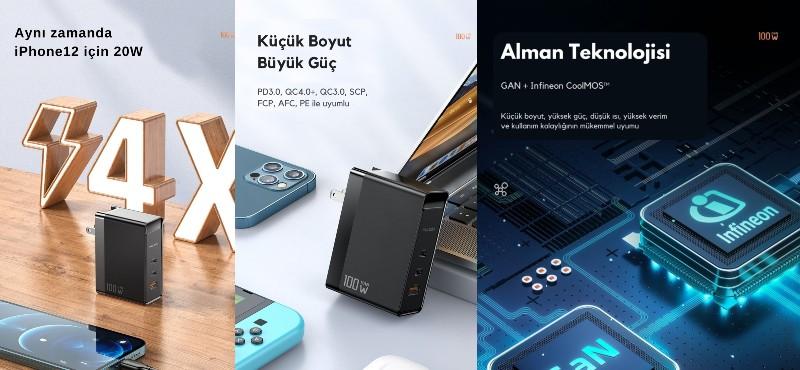 Dünyanın en hızlı şarj cihazı Türkiye'de
