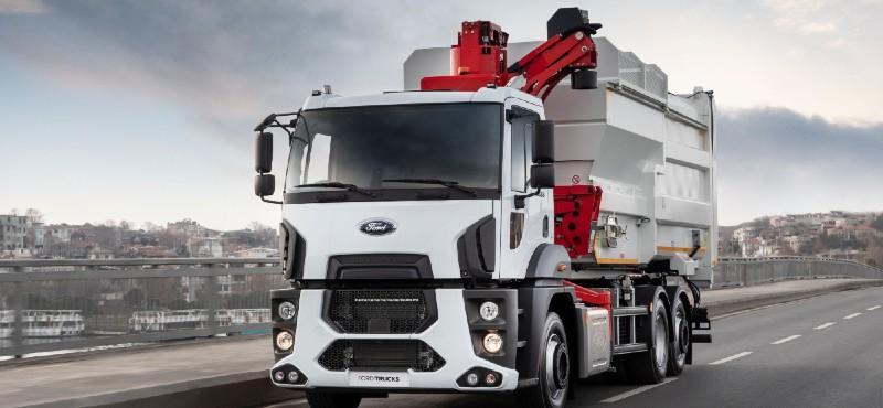 Ford Trucks, 2021'e yeni ürün ve bağlantılı araç teknolojileriyle hızlı bir giriş yaptı