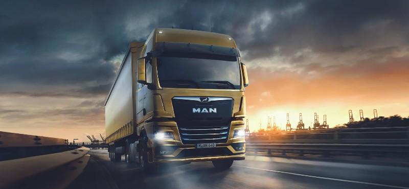 İthal kamyon çekici pazarının geleneksel birincisi: MAN