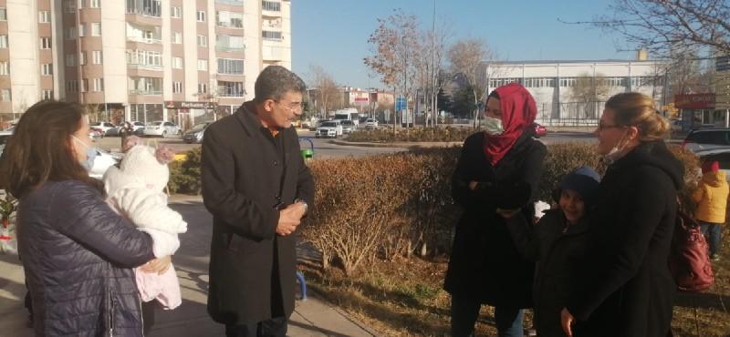 İYİ Parti Aksaray Milletvekili Ayhan Erel, ülkücü şehit Şevki Demir'in kabrini ziyaret etti.