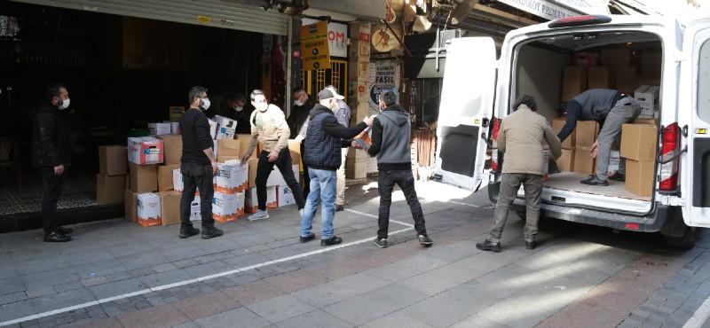 Kadıköy Belediyesi'nden esnaf dayanışması