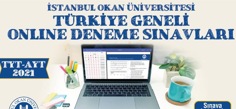 Okan'dan aday öğrencilere online deneme sınavı