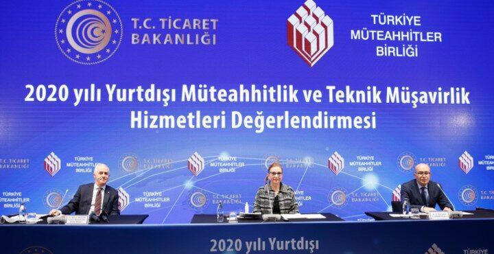 Türk müteahhitlerin 2021 yılı hedefi ilk aşamada  20 milyar doları yakalamak…