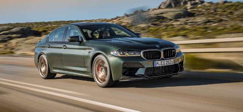 BMW'nin En Güçlü Modeli Yeni BMW M5 CS Türkiye'de Yollara Çıkmaya Hazırlanıyor