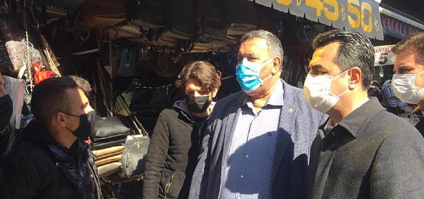 CHP İl Örgütü, Gündemi Sokaktan Takip Etti