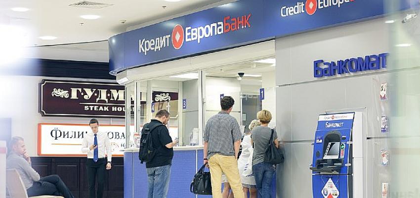 Credit Europe Bank, Rusya'nın en iyi 4. bankası seçildi