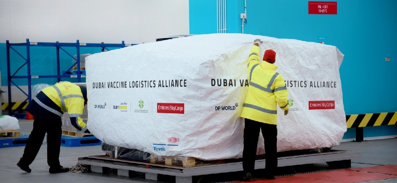 Dubai, COVID-19 Aşılarının, Emirates Üzerinden Gelişmekte Olan Ülkelere Dünya Çapında Dağıtımını Hızlandırmak İçin 'Aşı Lojistik Birliği'ni Oluşturdu