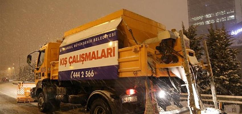 İstanbul'da kar kalınlığı 30 cm'e kadar çıktı