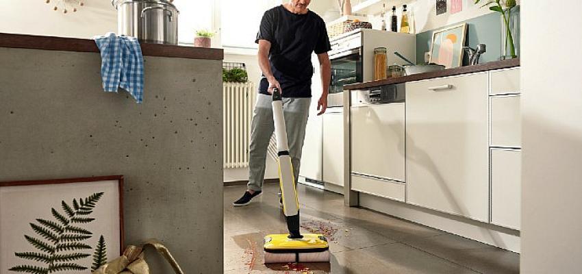 Kärcher'in yeni zemin temizleme makinesi FC 7 Kablosuz, geleneksel temizlik yöntemlerini rafa kaldırıyor!