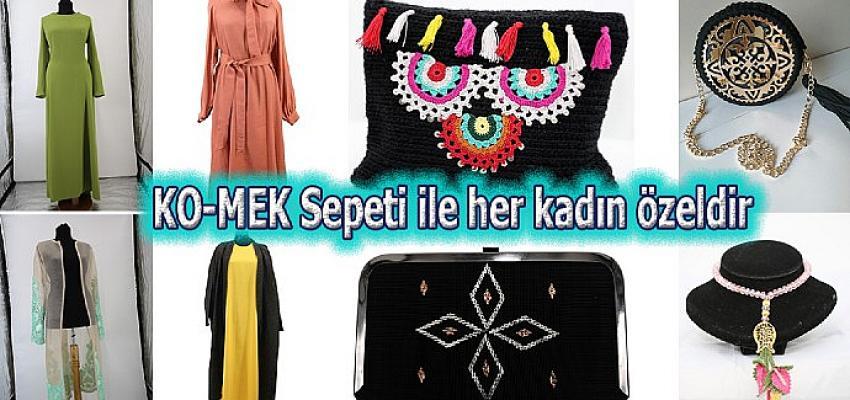 KO-MEK Sepeti ile her kadın özeldir