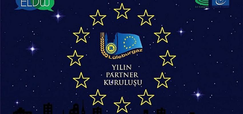"""""""Lüleburgaz Belediyesi 8'inci kez Avrupa'da Yılın Partneri"""""""