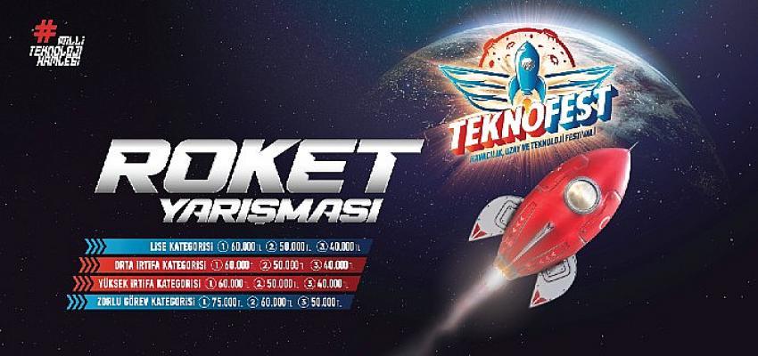 Roketini Tasarla, Üret, Fırlat  TEKNOFEST 2021'de Fark Yarat
