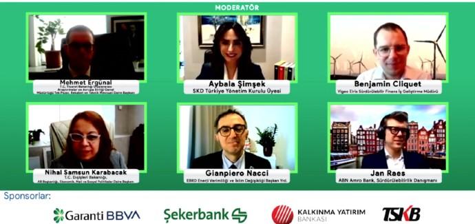 SKD Türkiye'nin düzenlediği 7'inci Sürdürülebilir Finans Forumu çevrim içi gerçekleşti
