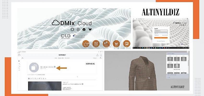 Tekstilde sıfır temasla dijital çözüm