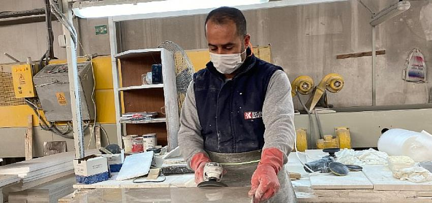 Türk doğal taş sektörü işlenmiş ürün ihracatını arttırmak için beş Ortadoğu ülkesine odaklandı