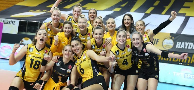 VakıfBank, Şampiyonlar Ligi ikinci etabında sahne alıyor