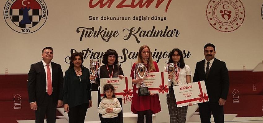 2021 Arzum Türkiye Kadınlar Satranç Şampiyonası başlıyor