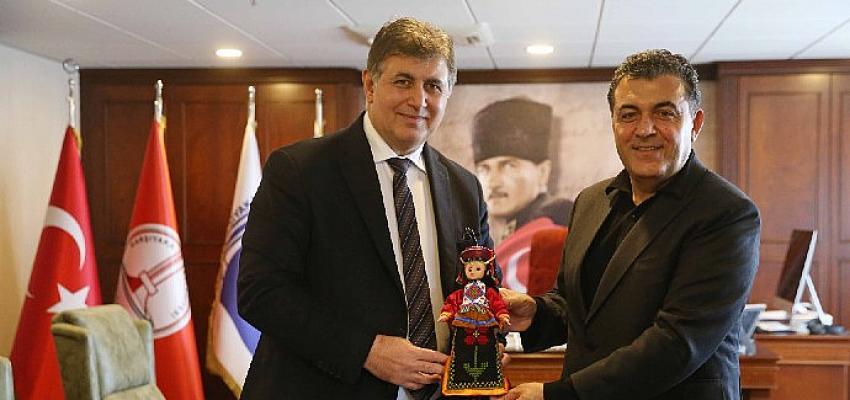 Başkan Faruk Demir'den Tugay'a dostluk ziyareti