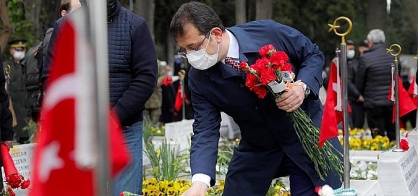 Çanakkale Şehitleri İstanbul'da da anıldı