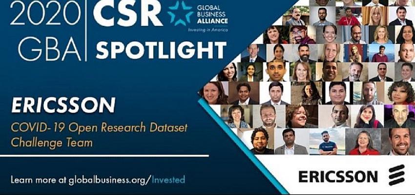 Ericsson, Global Business Alliance tarafından COVID-19'la mücadelede lider olarak belirlendi