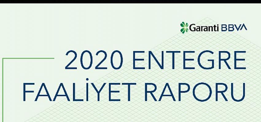 Garanti BBVA, 2020 Entegre Faaliyet Raporuyla yine bir ilki gerçekleştirerek topluma verdiği sözleri paylaştı.