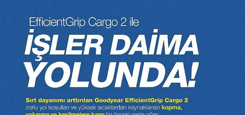 Goodyear Yeni EfficientGrip Cargo 2 ile hafif ticari araçlar için sektörde bir ilke imza atıyor