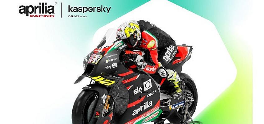 Kaspersky, Piaggio Group ile ortaklığı kapsamında Aprilia Racing'in sponsoru oldu