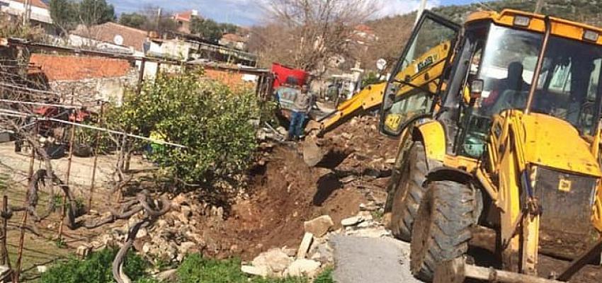 Kırsal mahallelerdeki çalışmalar devam ediyor
