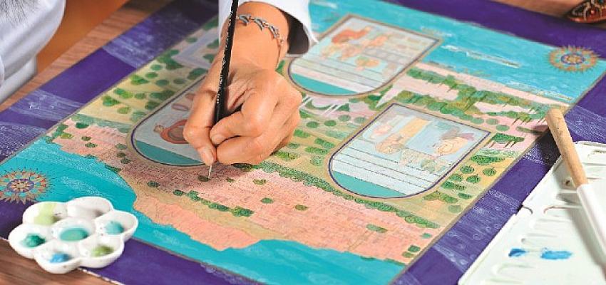 Kuveyt Türk'ten kadim geleneğimizi yansıtan yeni bir eser: Sanatın ve Sanatkârın İzinde