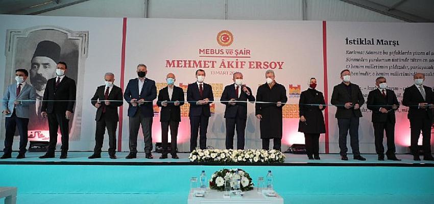"""""""Mebus ve Şair: Mehmet Âkif Ersoy"""" Sergisi Kazlıçeşme Sanat'ta açıldı"""