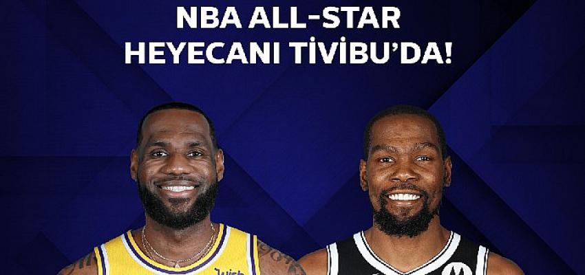 NBA All-Star keyfi Tivibu'da yaşanacak