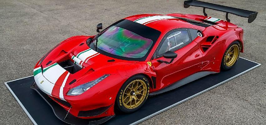 Pirelli, yeni Ferrari 488 GT Modificata için İzmit'te üretilen 'P Zero Dhe lastikleri' tanıttı