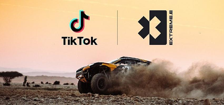 TikTok, Extreme E ile güçlerini birleştirerek iklim değişikliğine dikkat çekiyor